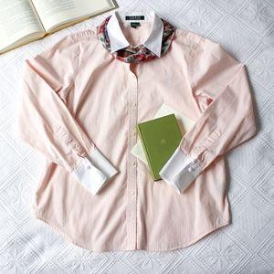 Ralph Lauren Cotton French Cuff Dress Shirt